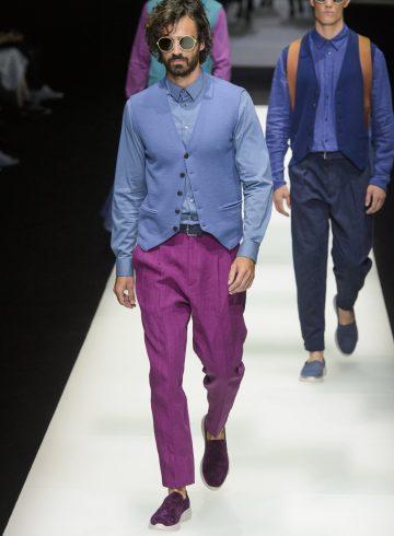 Giorgio Armani Spring 2018 Men's Fashion Show