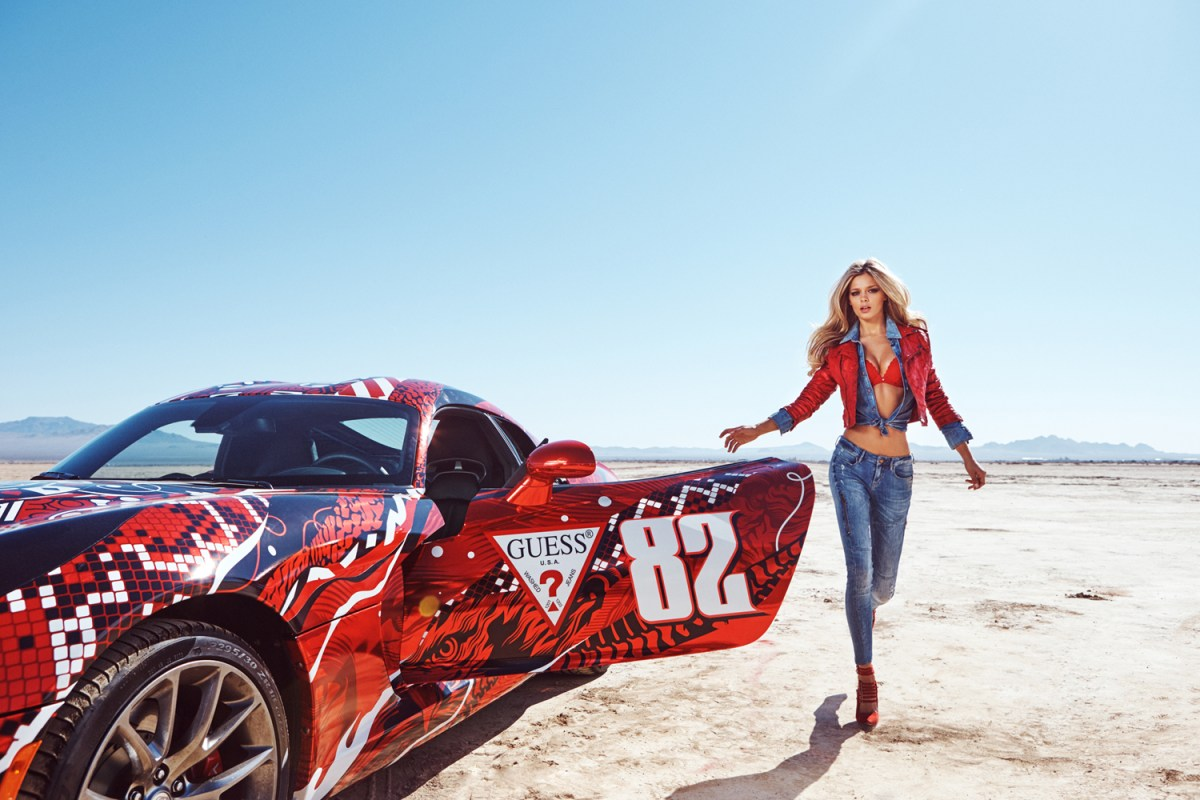 Guess Gumball 3000 Danielle Knudson, Simone Holtznagel, Natalie Pack