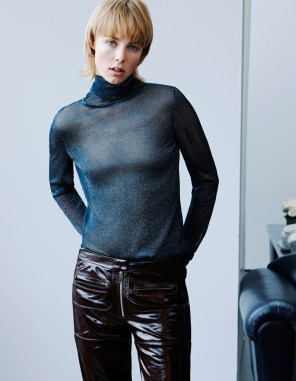 Edie Campbell H&M Fall 2015 ad photo
