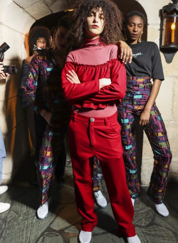 Jour/Ne Fall 2017 Fashion Show Backstage Cont.