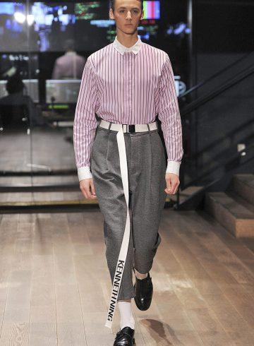 Kenneth Ning Fall 2017 Men's Fashion Show