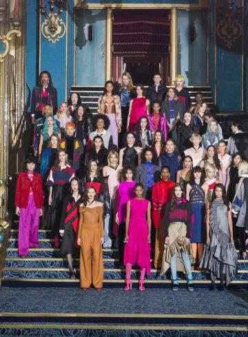 Koché Fall 2017 Fashion Show Atmosphere