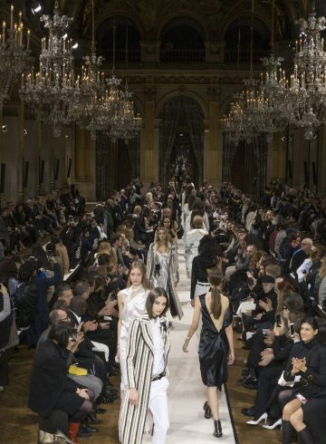 Lanvin Fall 2017 Fashion Show Atmosphere