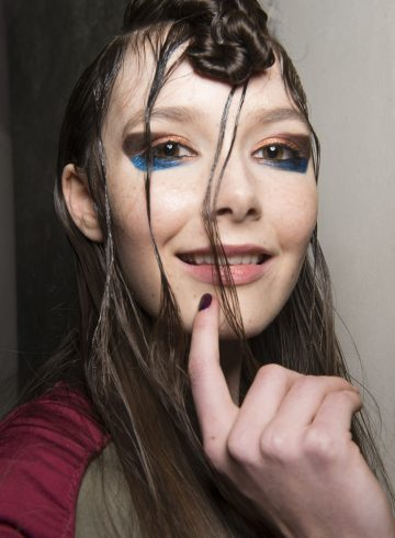 Leitmotiv Fall 2017 Fashion Show Backstage Beauty