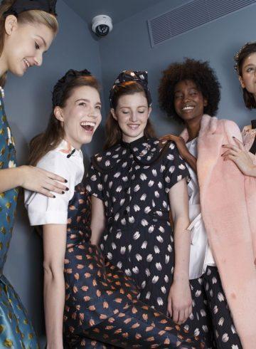 Lela Rose Fall 2017 Fashion Show Backstage