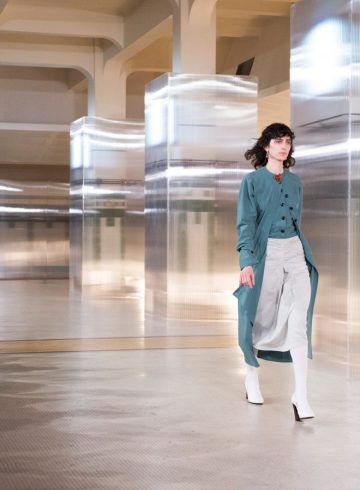 Lemaire Fall 2017 Fashion Show Atmosphere