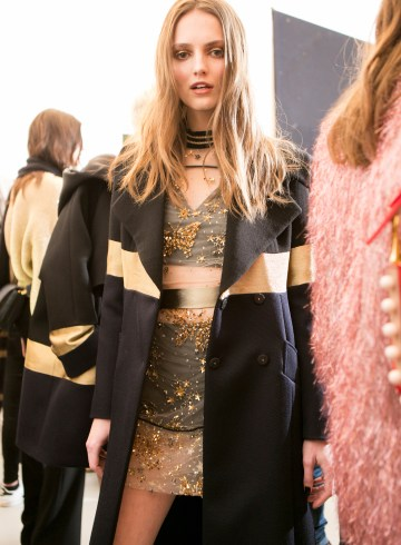 LES COPAINS FALL 2017 FASHION SHOW BACKSTAGE