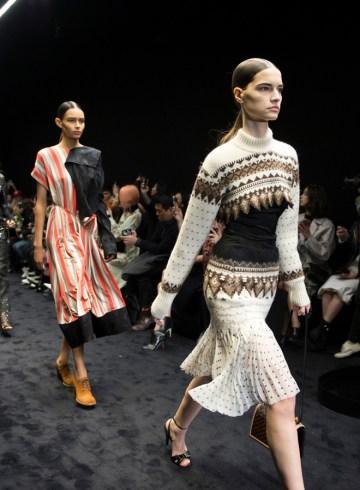 Loewe Fall 2017 Fashion Show Atmosphere