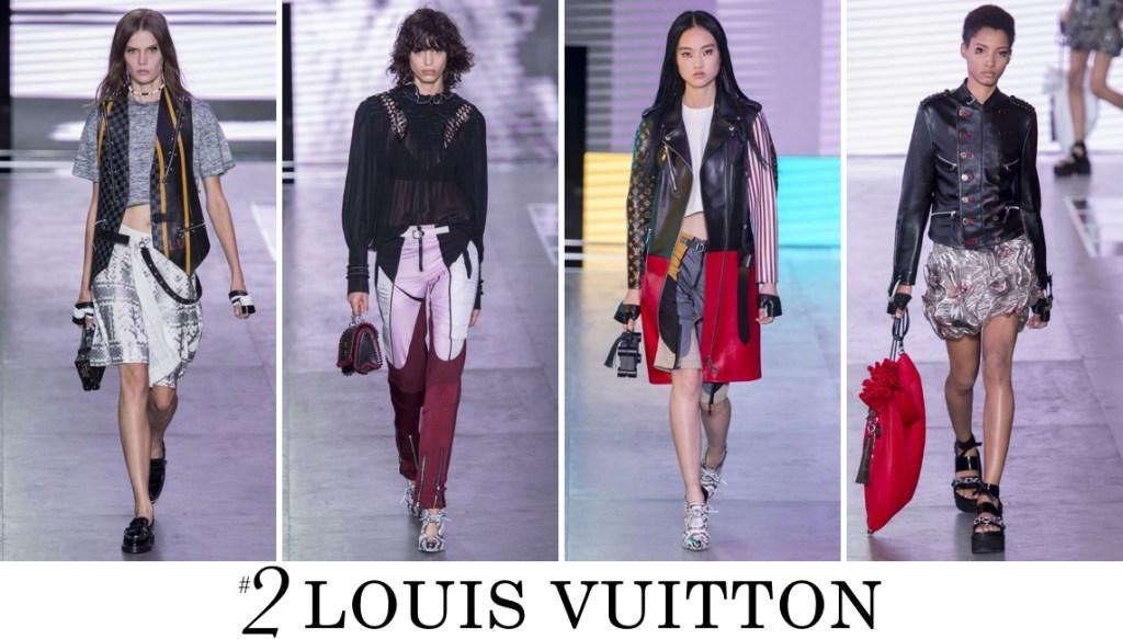 Louis Vuitton Spring 2016 Fashion Show Top 10 Photo