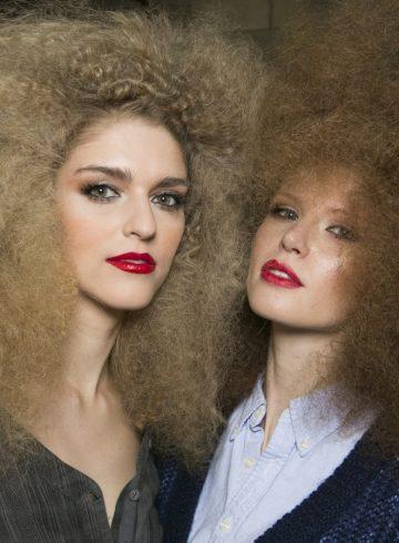 Michael Costello Fall 2017 Fashion Show Backstage Beauty