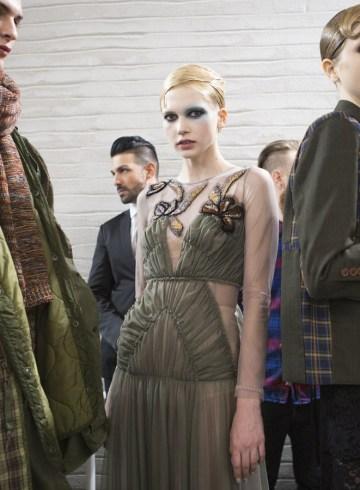 Antonio Marras Fall 2017 Fashion Show Backstage