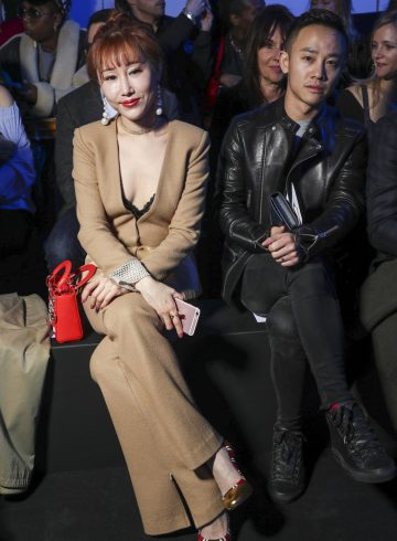 Pascal Millet Fall 2017 Fashion Show Front Row