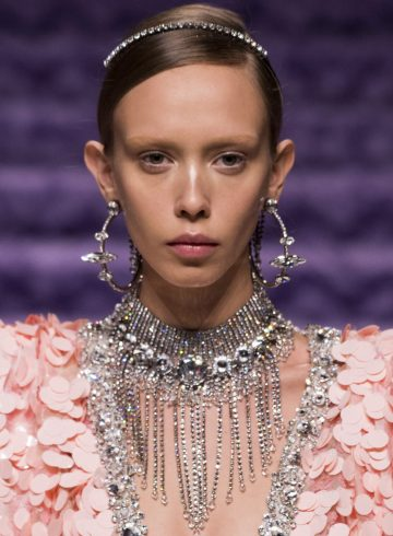 Miu Miu Fall 2017 Fashion Show Beauty