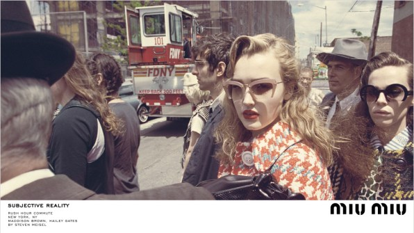 Miu Miu Fall 2015 Ad campaign Steven Meisel Giovanni Bianco photo