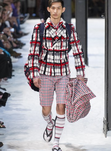 Moncler Gamme Bleu Spring 2018 Men's Fashion Show