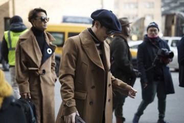 New York Week Fashion Week Men's Street Style Day 4 Fall 2017 - Part 1