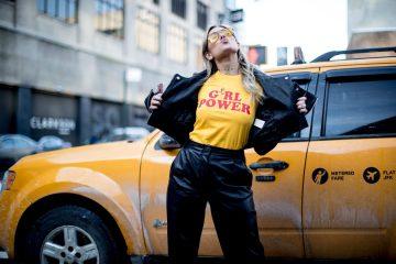New York Fashion Week Street Style Day 3 Fall 2017