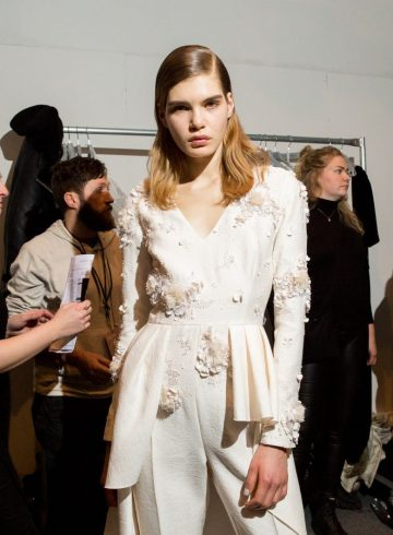 Noon by Noor Fall 2017 Fashion Show Backstage