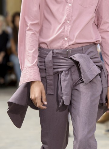 Officine Generale Spring 2018 Men's Fashion Show Details