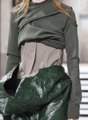 Rick Owens Fall 2017 Menswear Fashion Show Details