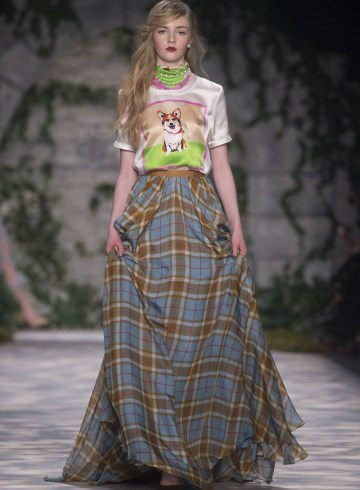 Jenny Packham Fall 2017 Fashion Show