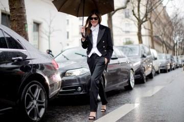 Paris Fashion Week Fall 2017 Street Style Day 5