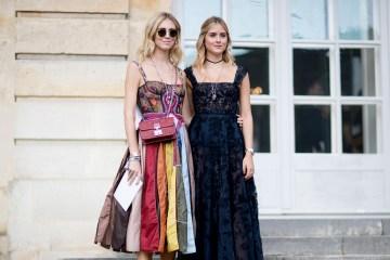 Paris Fashion Week Street Style Spring 2018 Day 1