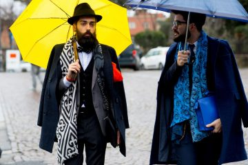 Firenze Pitti Uomo Men's Street Style Fall 2017 | Day 4