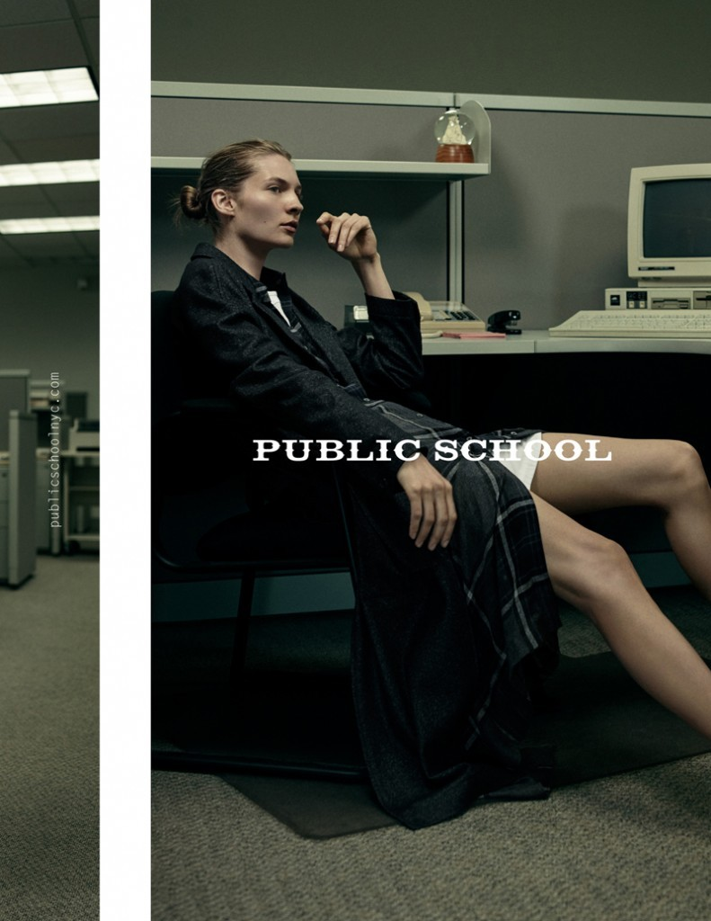 Public school designer ad campaign fall 2015 photo