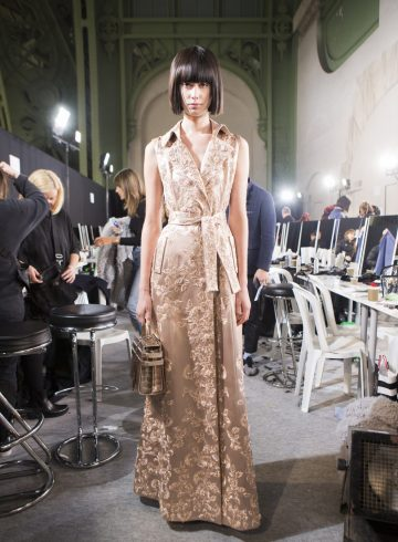 Ralph Russo Spring 2017 Couture Fashion Show Backstage