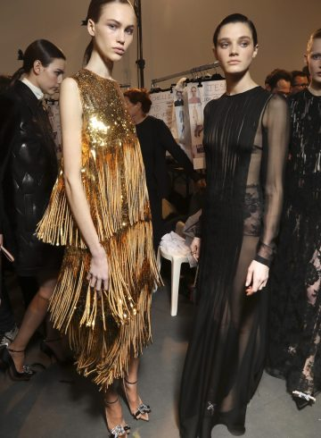 Rochas Fall 2017 Fashion Show Backstage Cont.