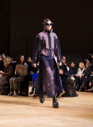 Sacai Fall 2017 Fashion Show Atmosphere