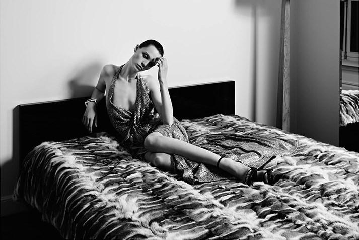 saint laurent couture ad campaign photo