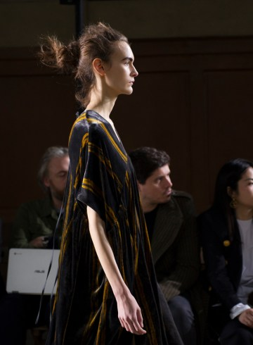 Uma Wang Fall 2017 Fashion Show Atmosphere