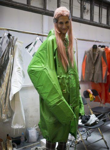 Walter Van Beirendonck Spring 2018 Men's Fashion Show Backstage