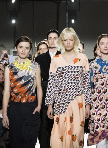 Dries Van Noten Fall 2017 Fashion Show Atmosphere Cont.