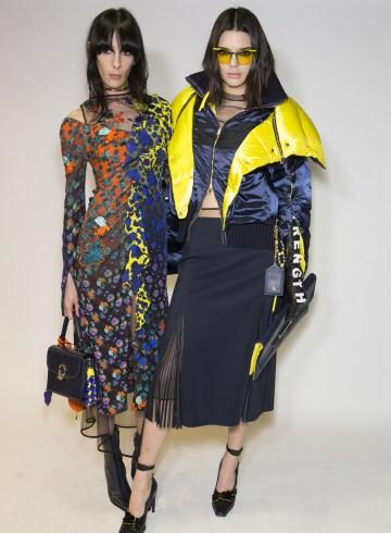 Versace Fall 2017 Fashion Show Backstage