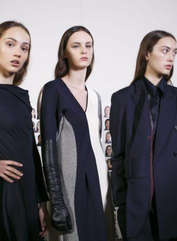 Victoria Beckham Fall 2017 Fashion Show Backstage Beauty