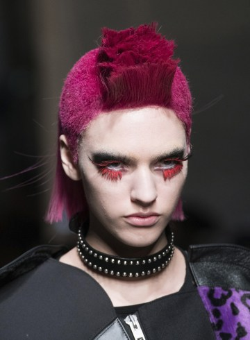 Junya Watanabe Fall 2017 Fashion Show Beauty