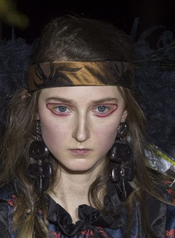 Vivienne Westwood Fall 2017 Fashion Show Beauty