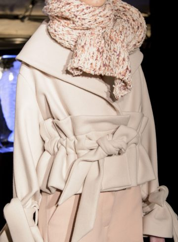 Xiao Li Fall 2017 Fashion Show Details