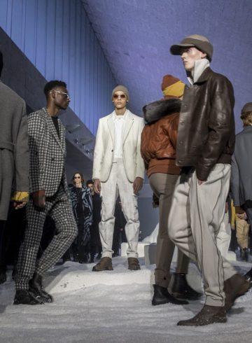Ermenegildo Zegna Fall 2018 Men's Fashion Show Atmosphere