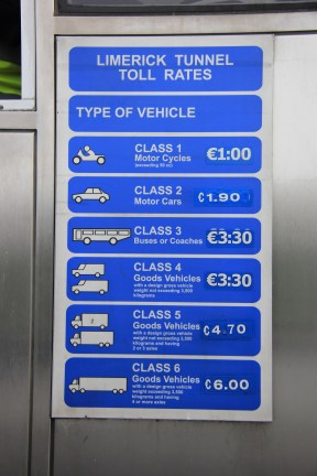 Prices for Toll
