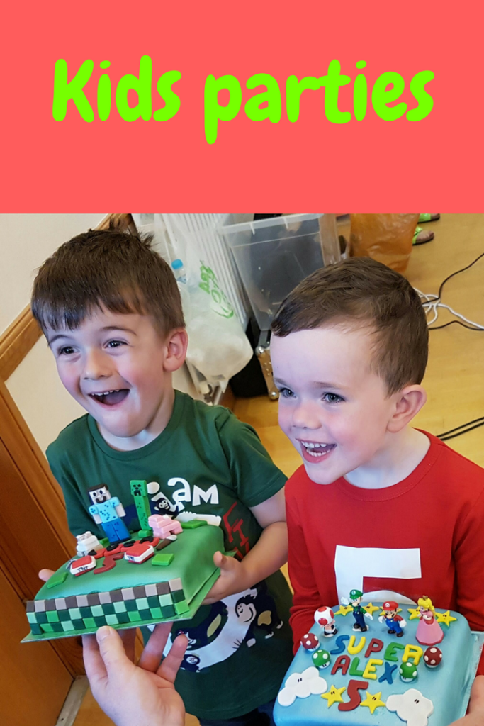 Read about my first attempt at organising a kids party #birthday #birthdayparty #fifthbirthday #minecraft #supermario #partyfood #childrensparty