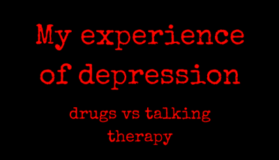 depression - pills vs talking therapy