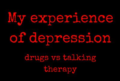 depression - pills vs talking therapy