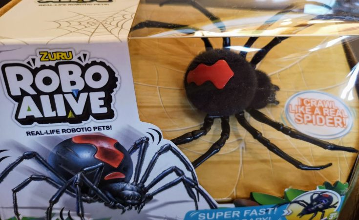 robo alive spider, zuru, halloween