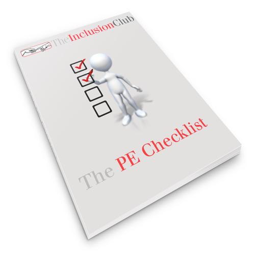 The Inclusion Club—Episode09 The PE Checklist Cover
