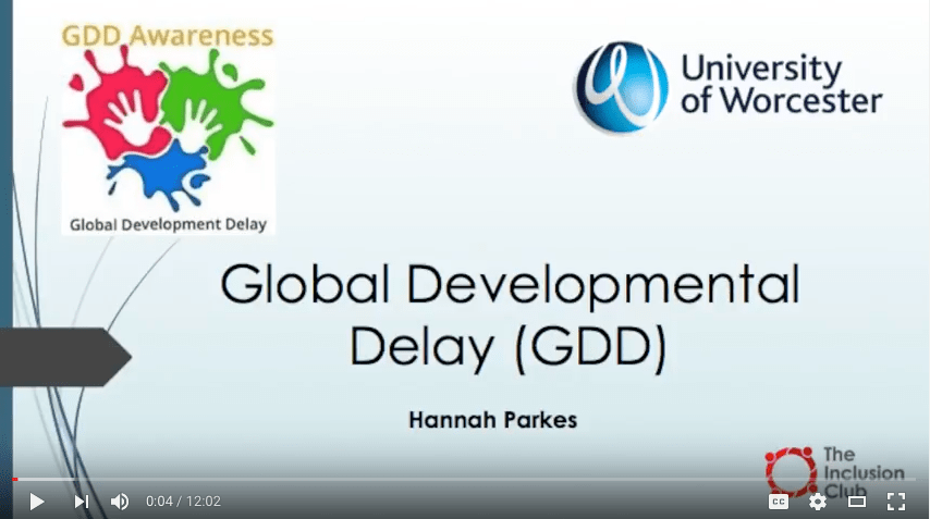 Physical Activity and Global Developmental Delay