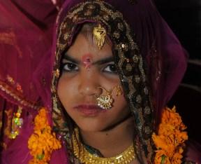 A minor below India's legal age of marit